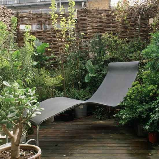 Small Patio Garden Ideas how to make a back garden without grass look green domino mag Budget Conscious Balcony Small Gardens 10 Of The Best Ideas Housetohome