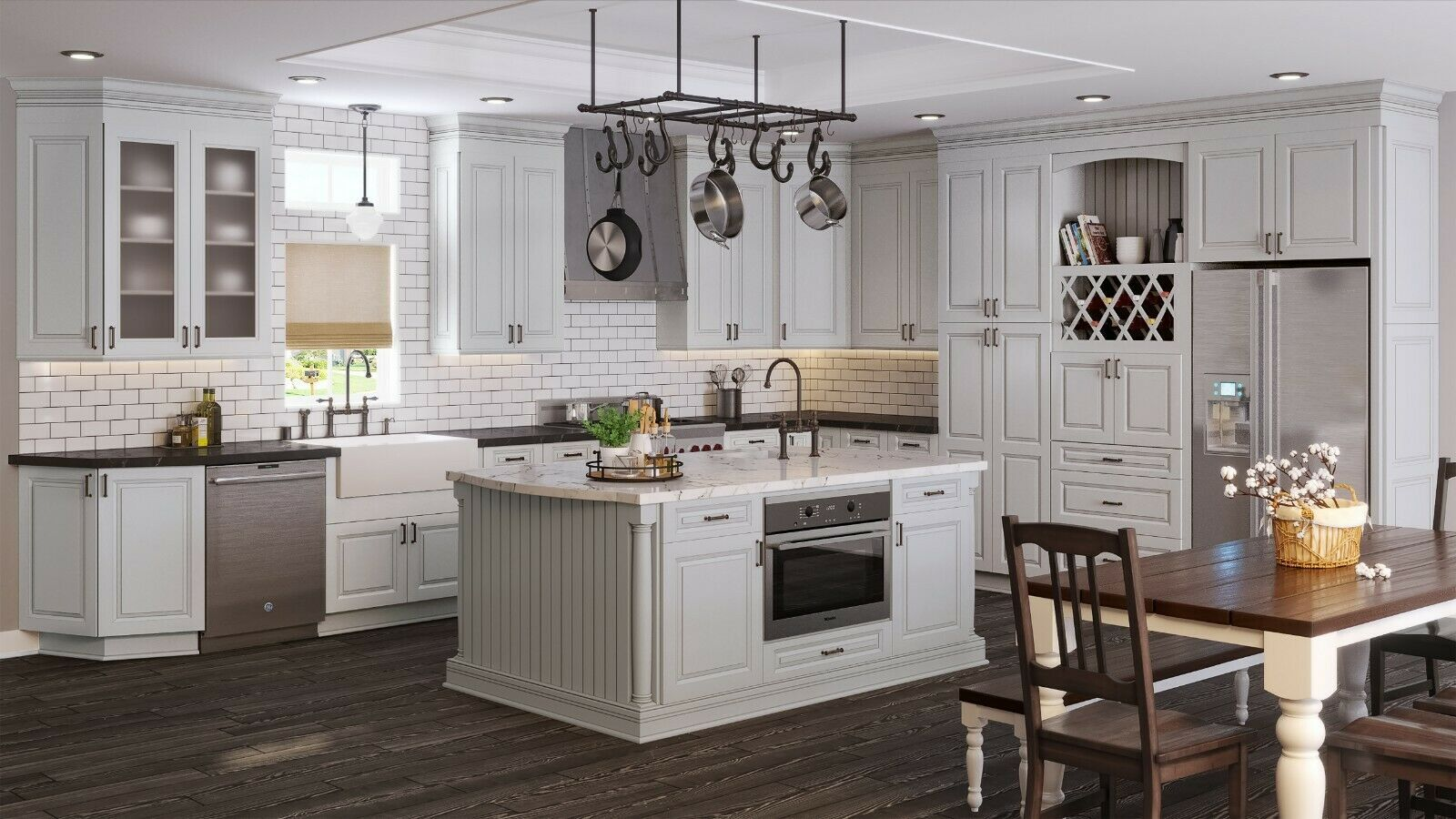 Rta All Wood 10x10 Torrance Dove Kitchen Cabinets Taupe Light Gray Raised Panel Kitchen C Grey Kitchen Cabinets Online Kitchen Cabinets Buy Kitchen Cabinets