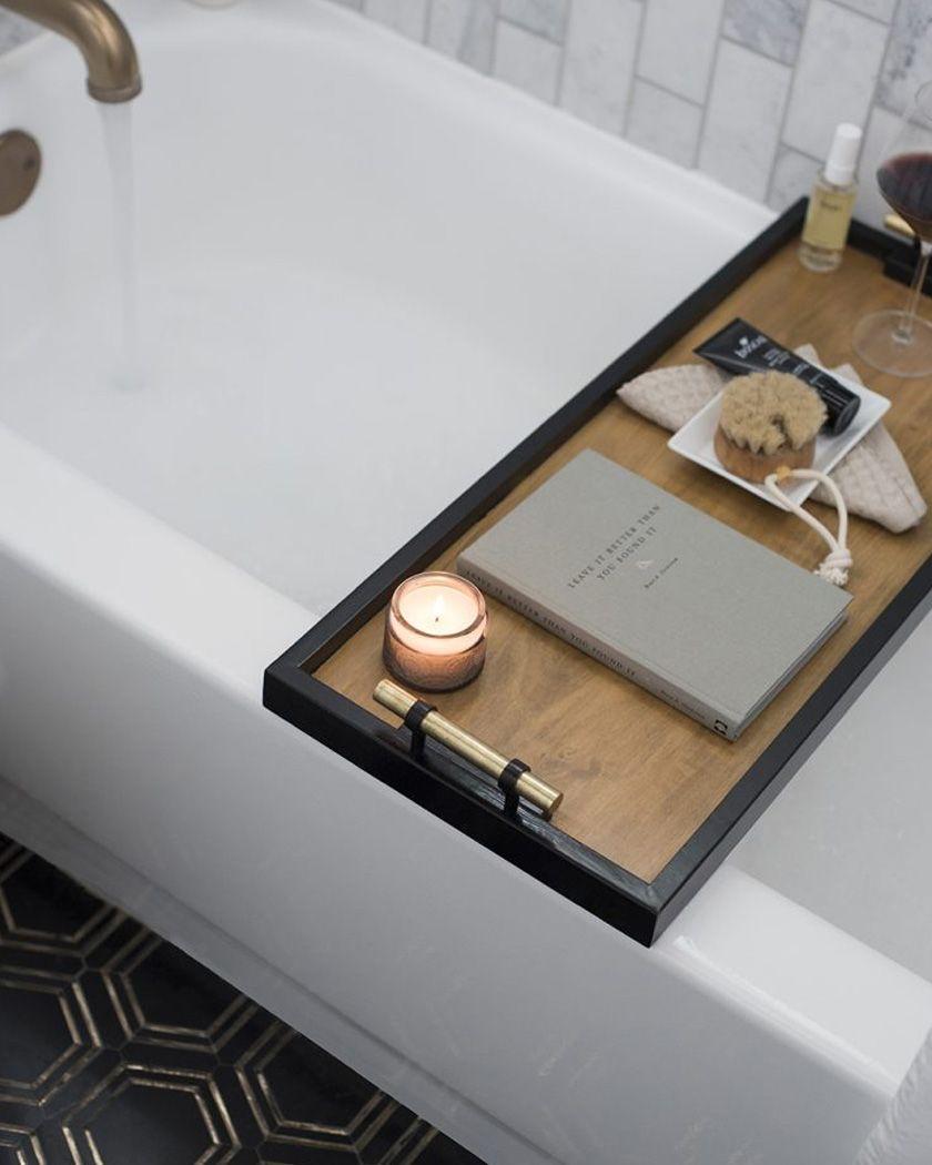 Une tablette de bain DIY | DIY Deco / Decor DIY | Déco ...