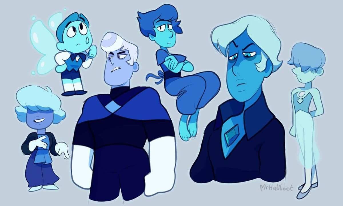 genderbent blue diamond court