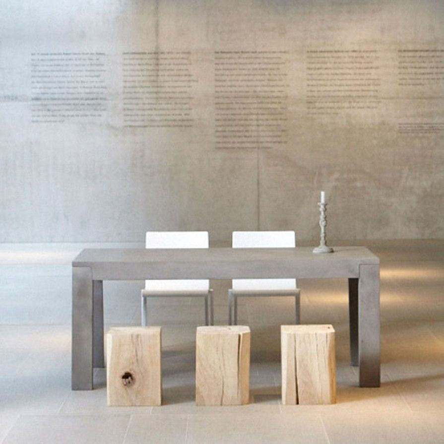 beton-tisch | wohnzimmer | pinterest | tisch, jan kurtz und design