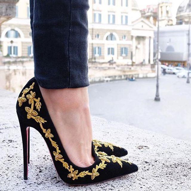 zapatos tipo louboutin