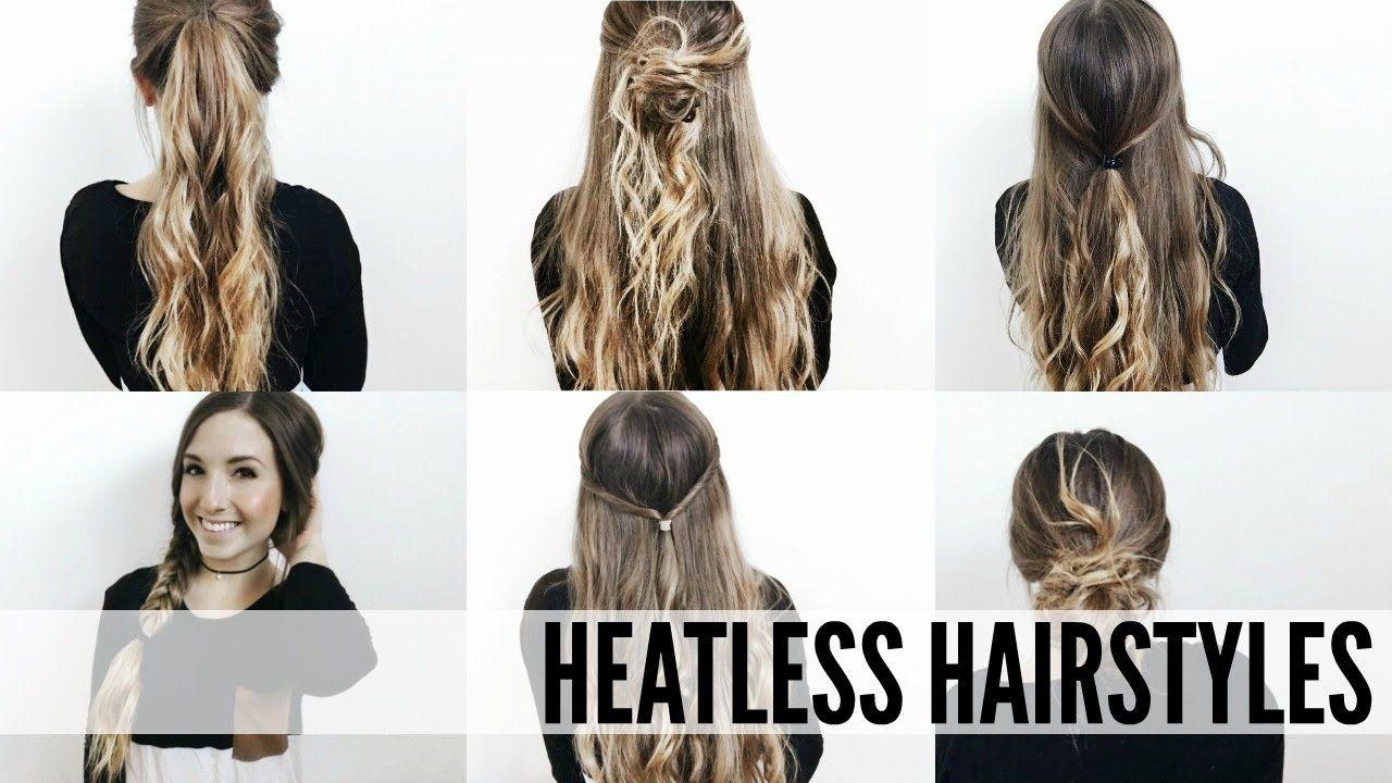 Hairstyles For School Easy 5 Minute  Easy Heatless Hairstyles For School  Tumblr Inspired