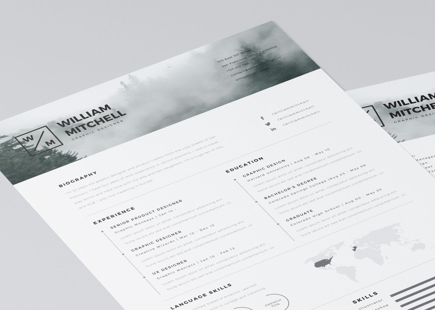 Gallery Of Free Resume Templates For Architects    Free Resume