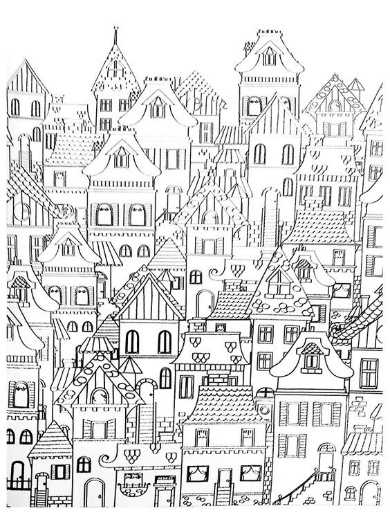 Pin Oleh Sunduz Oztekesin Di Black Buku Mewarnai Kreatif Gambar