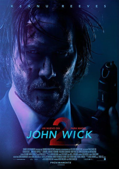 Poster On Twitter John Wick Movie John Wick 2 Movie Keanu Reeves