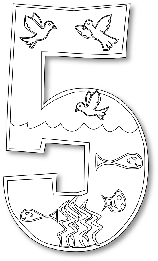 Days of Creation coloring pages  I cant find day 2 but the