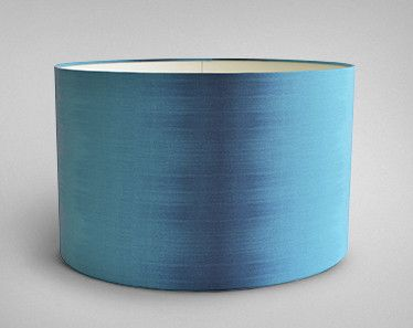 Superior Ikat Lampshade   Teal Drum   Designed By Ptolemy Mann
