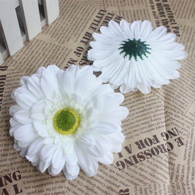 13cm Large Artificial Gerbera Daisies Silk Gerbera Daisy Flowers Heads For Diy Flower Arrangeme Flower Arrangements Diy Flower Arrangements Flower Decorations