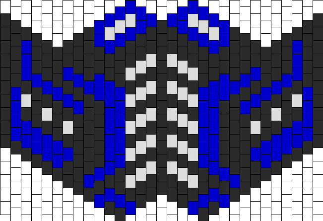 Subzero Full Face Mask Bead Pattern