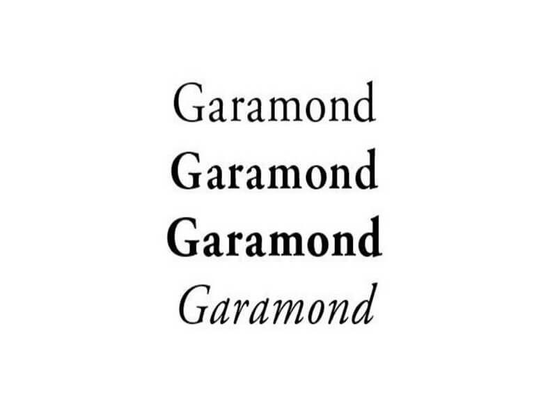 Garamond font free download garamond font download