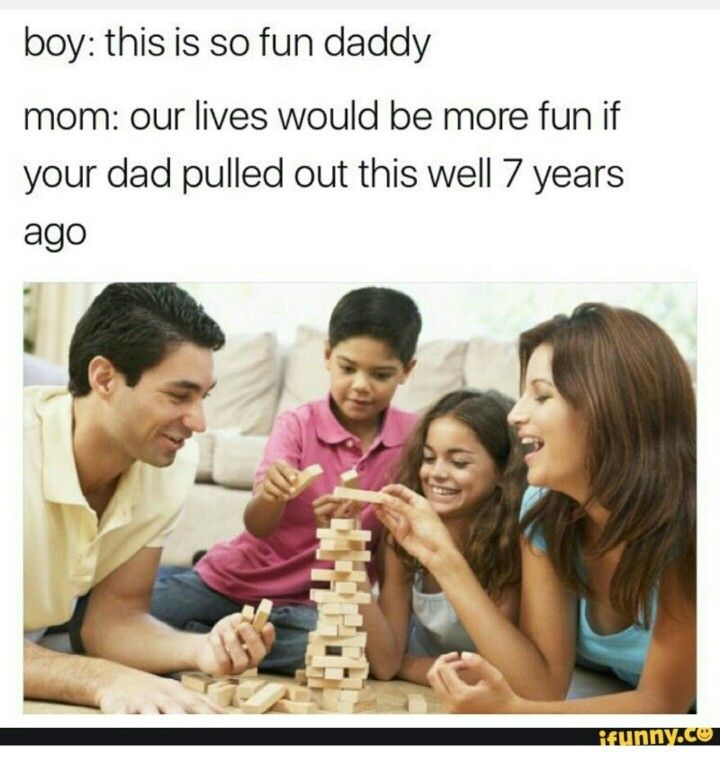 Found on reddit childfree sub Family game night, Family