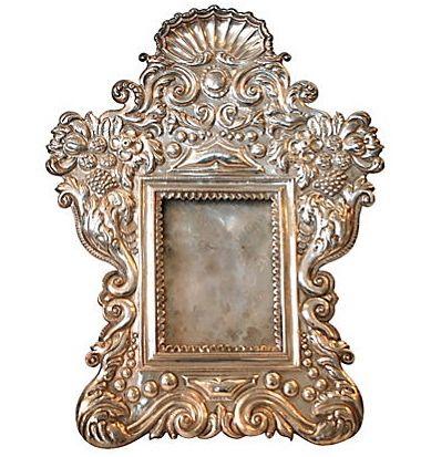 Silver Peruvian Mirror