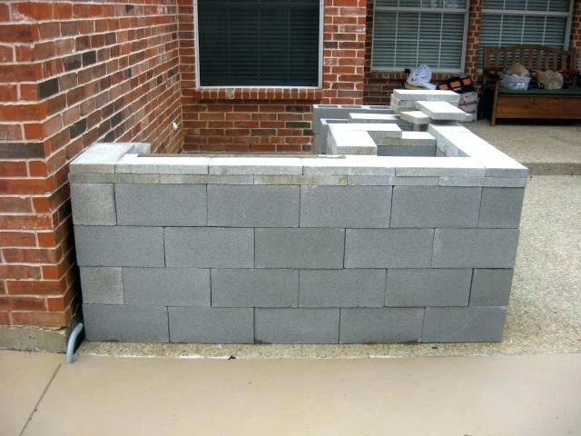 Outdoor Kitchen Cinder Block Frame Designs How To Build An Out Of Concrete Small Home Outdoor Kitchen Plans Cinder Block Outdoor Kitchen