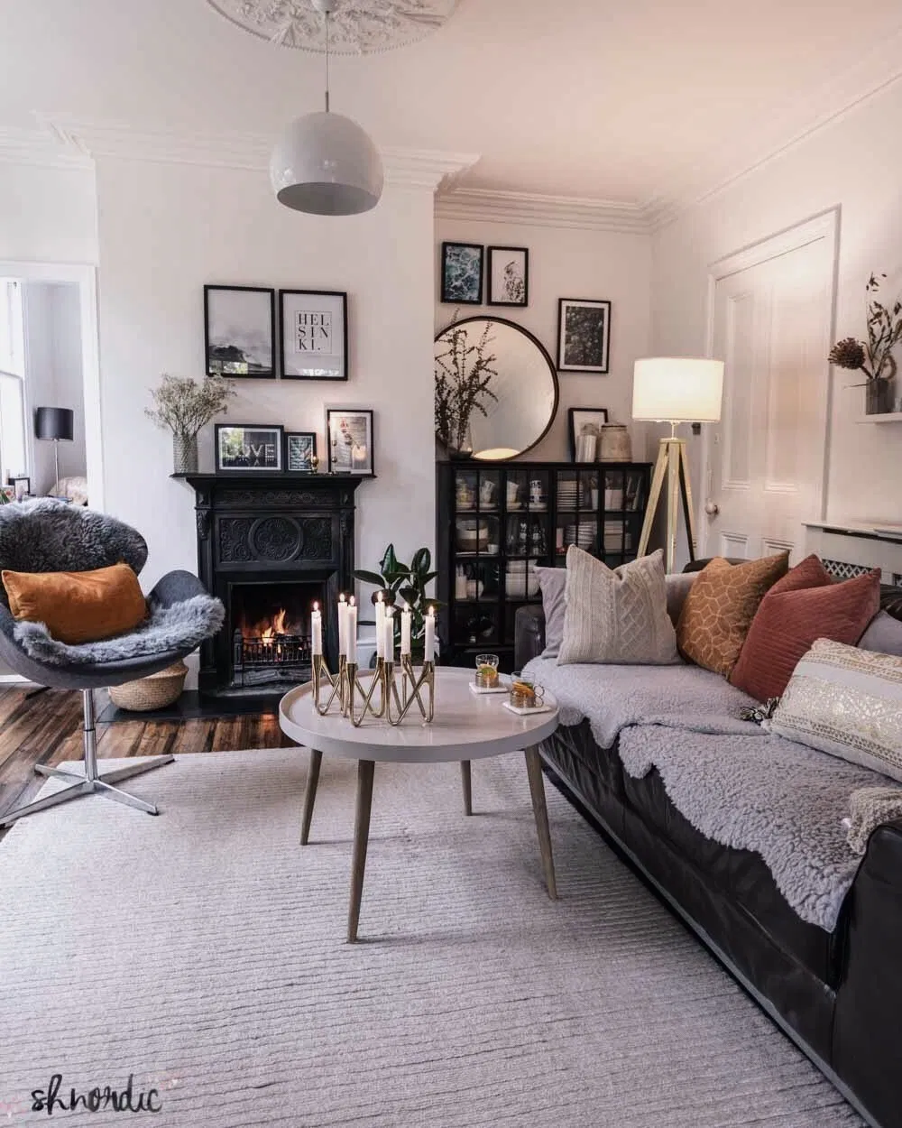 In my living room - How to decorate long and narrow rooms ...