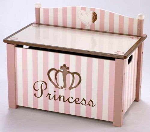 Blue Storage Kids Toy Box Playroom Furniture Bedroom Girls: Cute Toy Chests For Girls