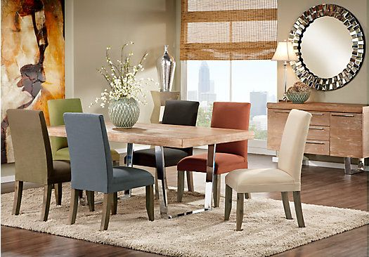 Cindy Crawford Home San Francisco Ash 5 Pc Dining Room With