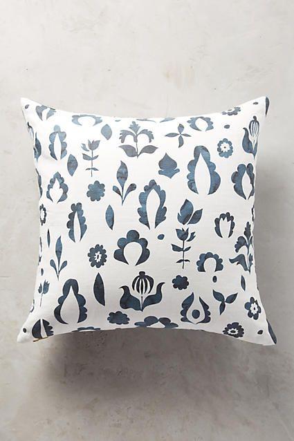 Floral Medallion Pillow - anthropologie.com