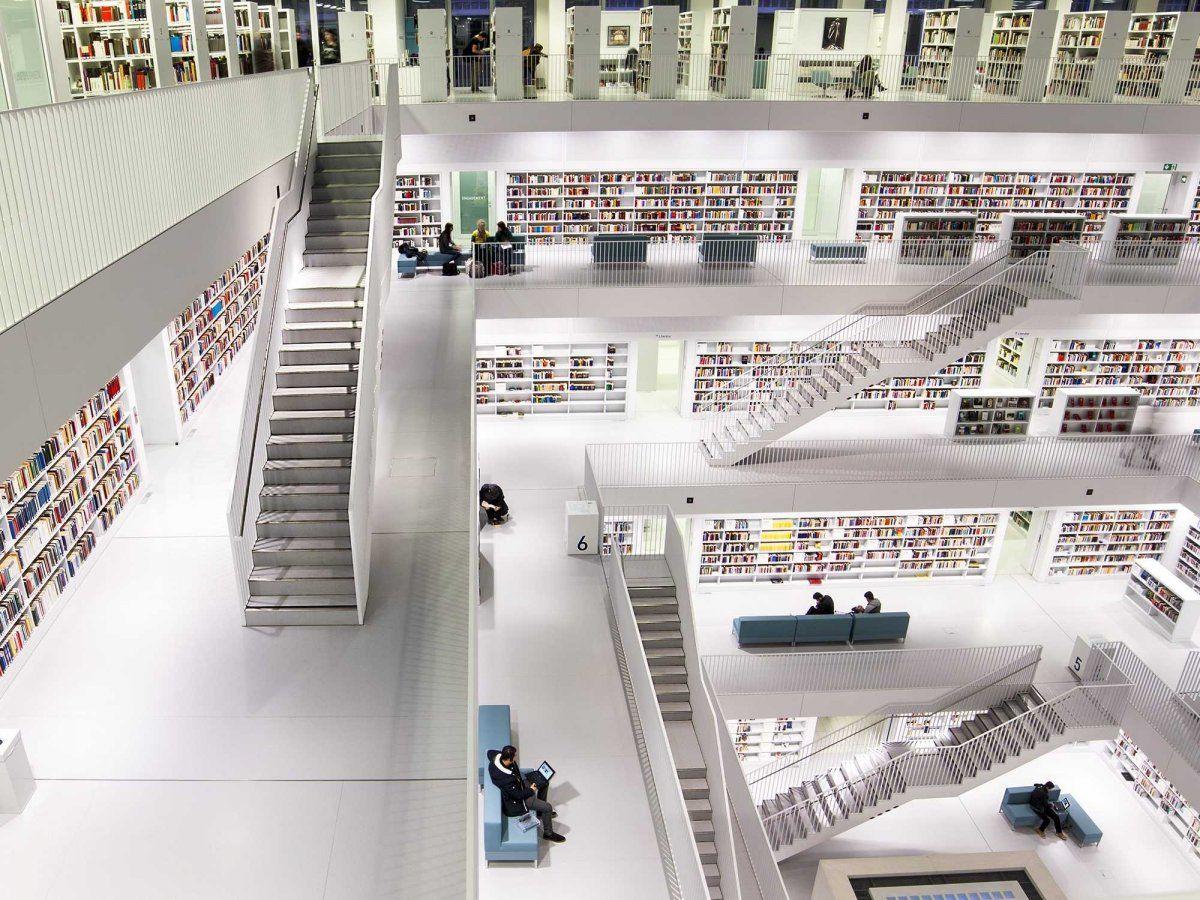 Jose Vasconcelos Library In Mexico City Mexico Bibliotecas