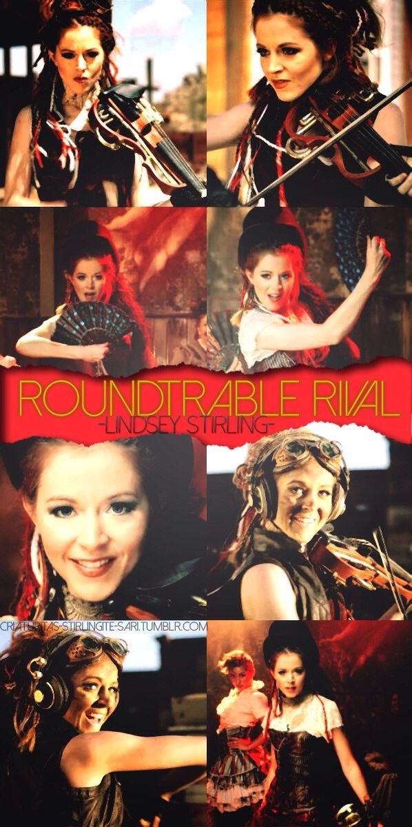Lindsey Stirling Roundtable Rival- This is a fab edit. Credit to the creater for a fab job