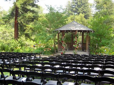 Wedding With Redwood Trees And Forest Views At The River House In Santa Cruz Mountains A Venue By Here Comes Guide