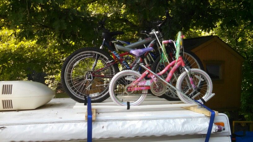 Pop up c&er bike rack & Pop up camper bike rack | pop up camper modifications | Pinterest ...