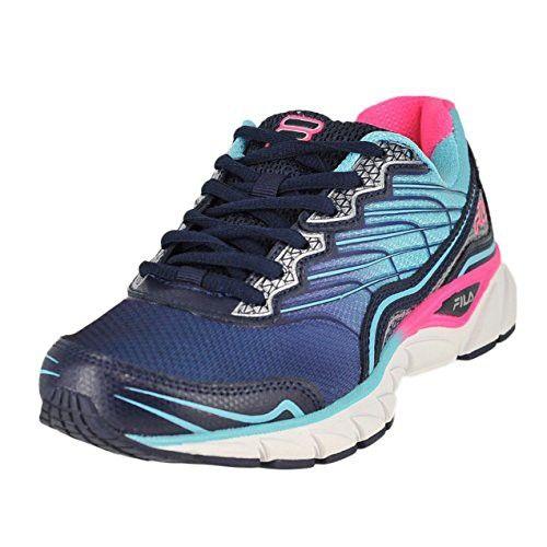 Fila Women's Memory Countdown 3 Running Shoe, Fila Navy