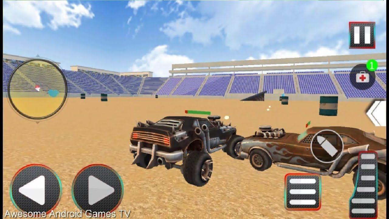 Derby car demolition xtreme crash stunts racing android
