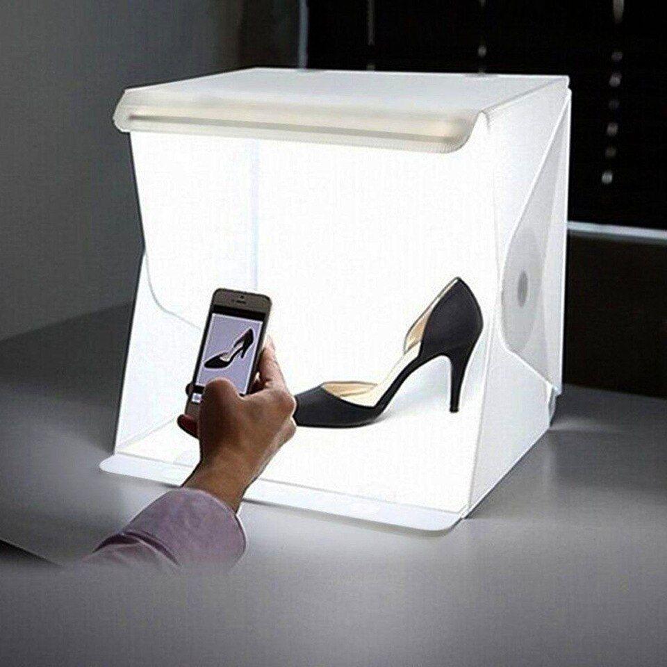 Salle Lumineuse Mini Photo Studio Photographie éclairage Tente Kit Toile De Fond Cube Boîte Table Tir Aliexpress Studio Photo Portable Studio Photo Room Photo