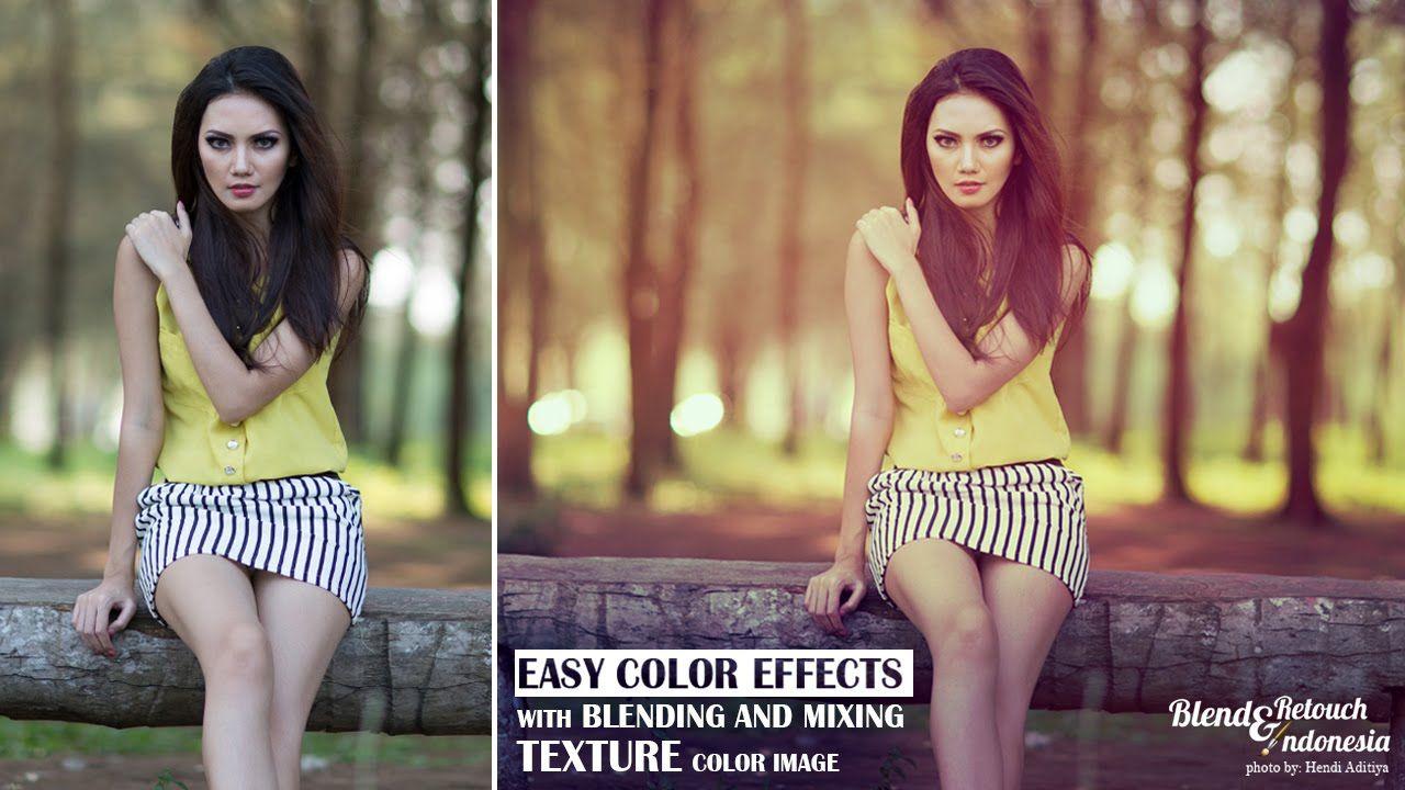 blending color effect using texture color