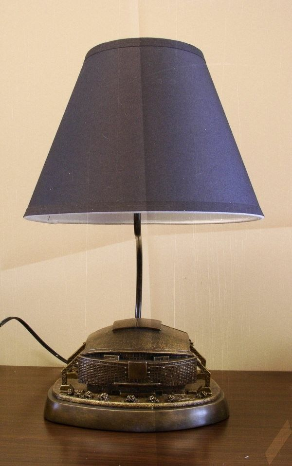 Dallas Cowboys Desk Table Lamp Sculpture By Tim Wolfe Lamp Table Lamp Desktop Lamp