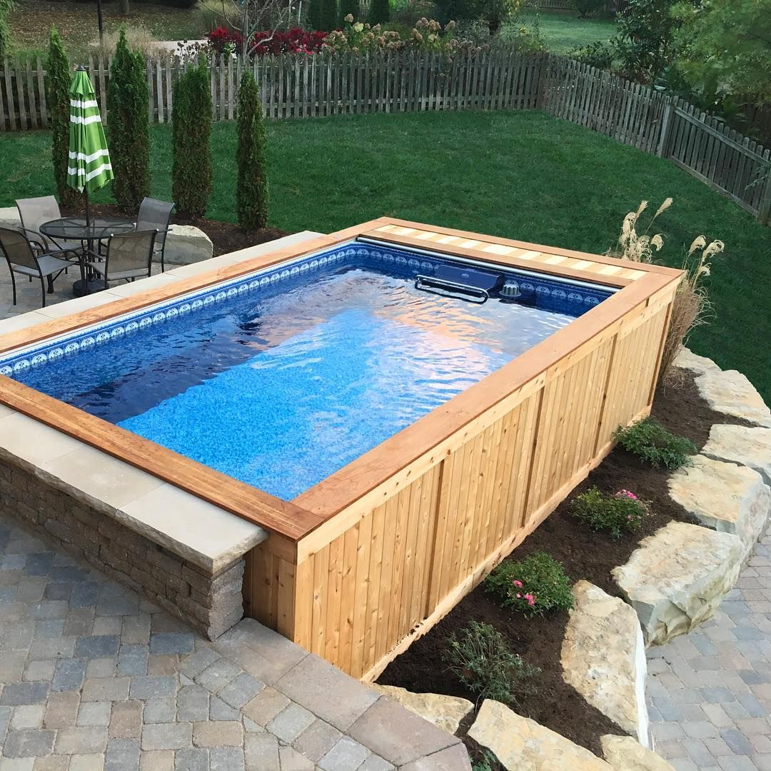 17 Ways To Pretty-Up An Above-Ground Pool In 2020