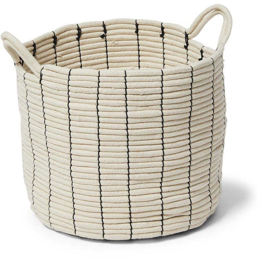 Big W cotton rope bascket 5 Stylish storage baskets