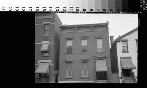 Rockwell's photo showing the Troy buildings as they were, 294, 296, and 298 4th Streets. Source: Norman Rockwell Museum Digital Collection. ...