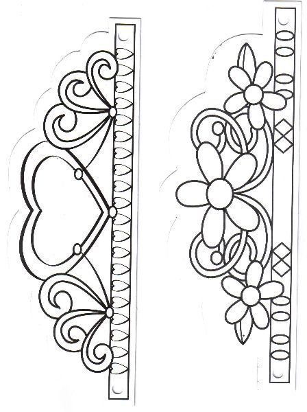 D Paper Crown Template Tiara Princess Crown Template  Rapunzel