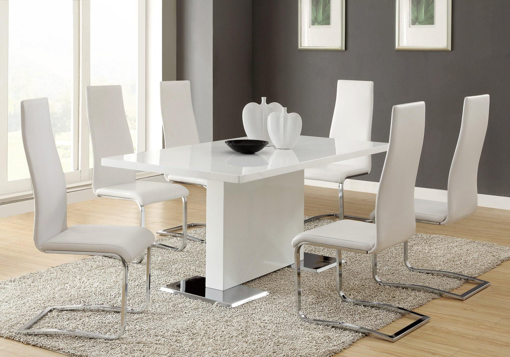 White Dining Room Table, White Dining Room Sets