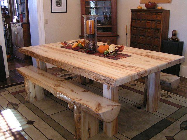 Simple Furniture Rustic, Aspen Wood Furniture