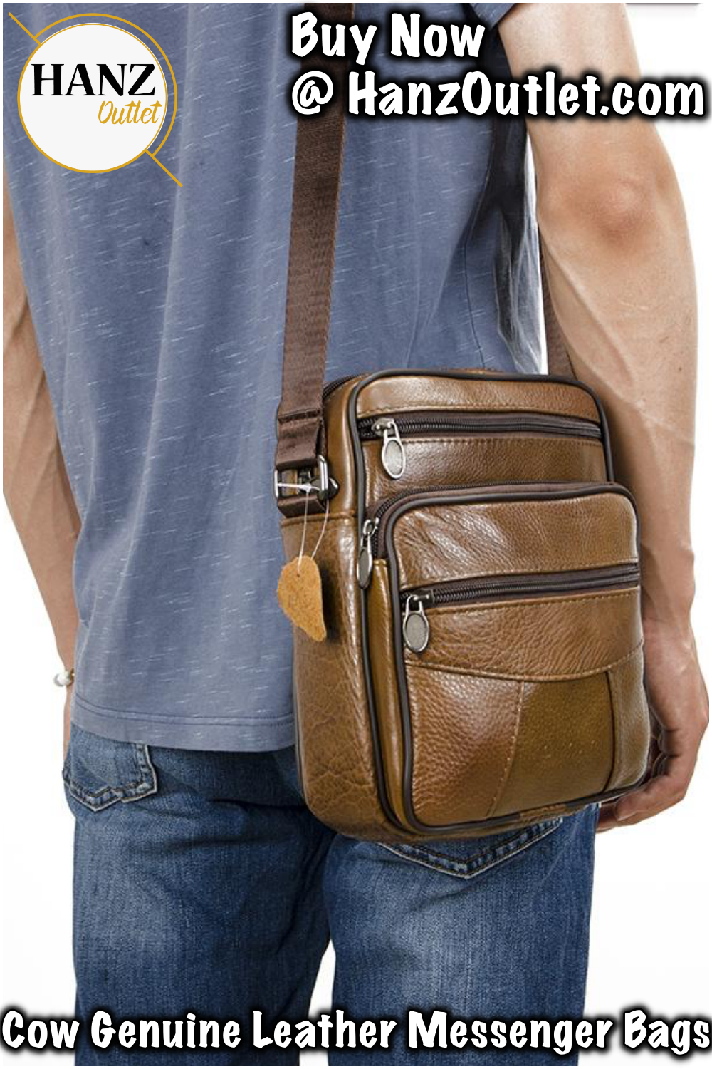 f0d69a5ea04a Cow Genuine Leather Messenger Bags Men Travel Business Crossbody Shoulder  Bag for Man Handbags Messenger Small Men Cow Leather  CowLeatherBags ...