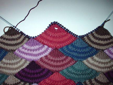 Resultado De Imagen Para Modular Knitting Agujas Pinterest