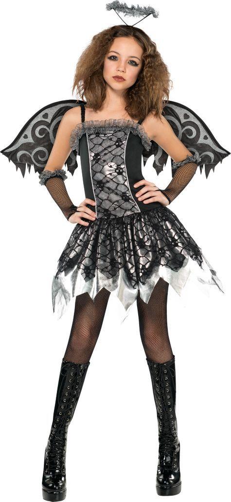 Girls Fallen Angel Costume Party City Julias Halloween 2015