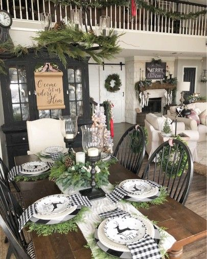 Pin By YaniPochi Barroso On Christmas Dining Room 2019