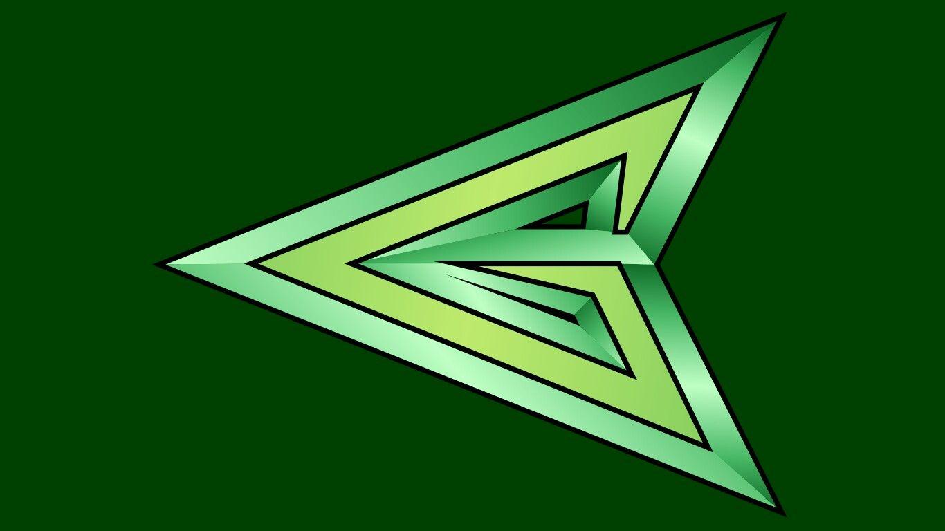 Pin by Joshua W. Murcray on Symbols   Green arrow logo ...