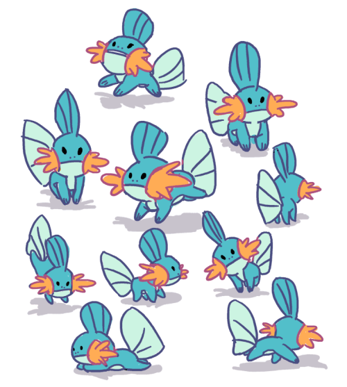 I see Mudkip as being mischievous, competitive, curious, adventurous ...