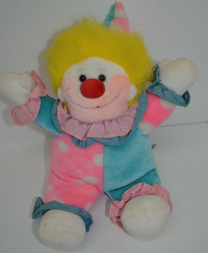 Plush Creations Clown You Are My Sunshine Musical Turn Key Pink Blue