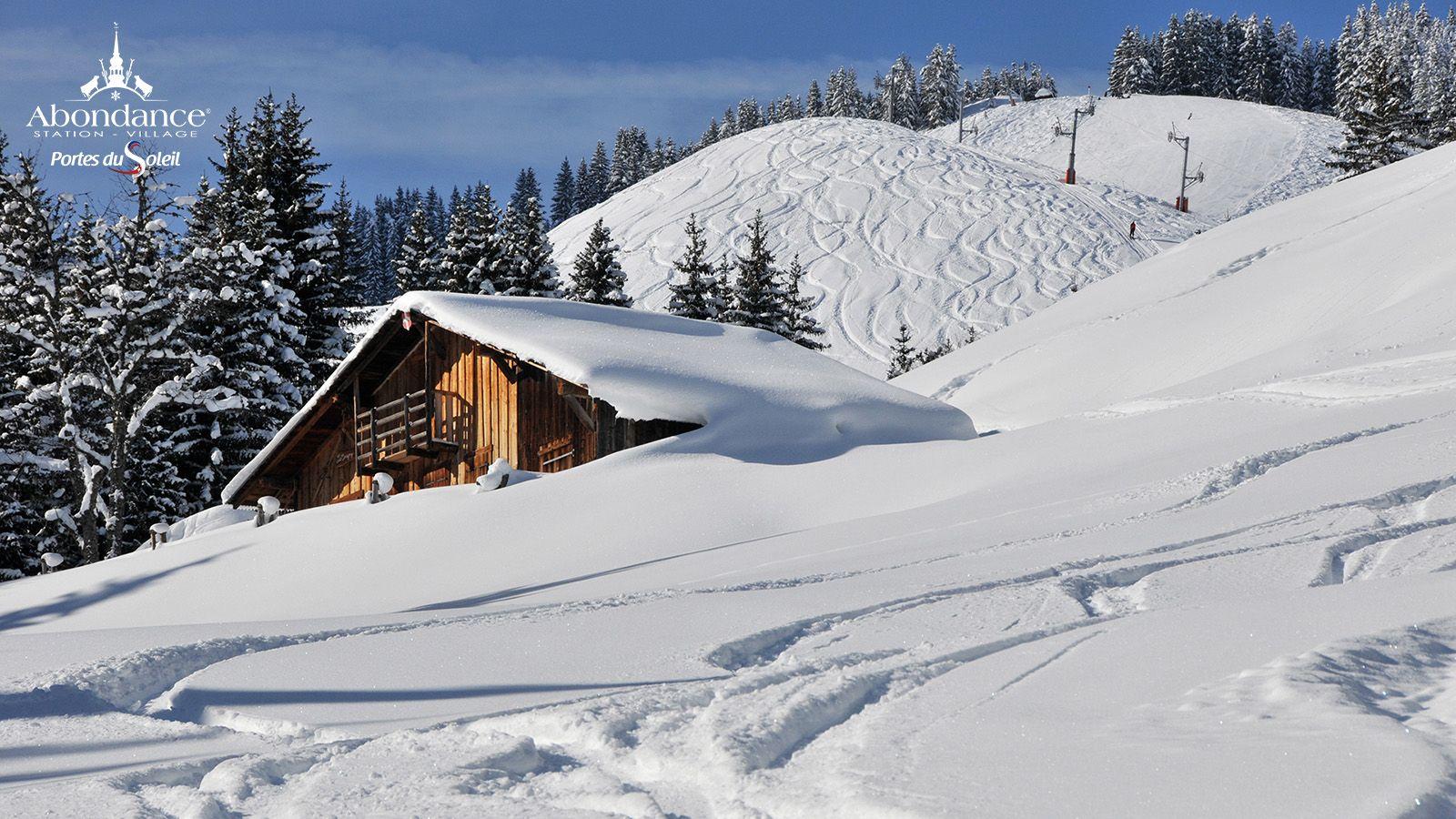Domaine Skiable De L Essert Portes Du Soleil Paysage De