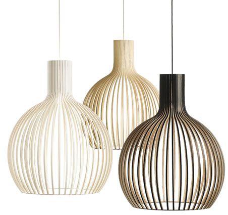 hanglamp octo van secto design 3 lampen op verschillende