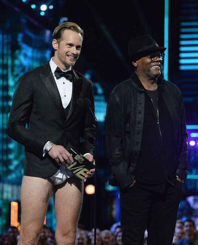 Alexander Skarsgård's Tighty-Whities Won The MTV Movie Awards