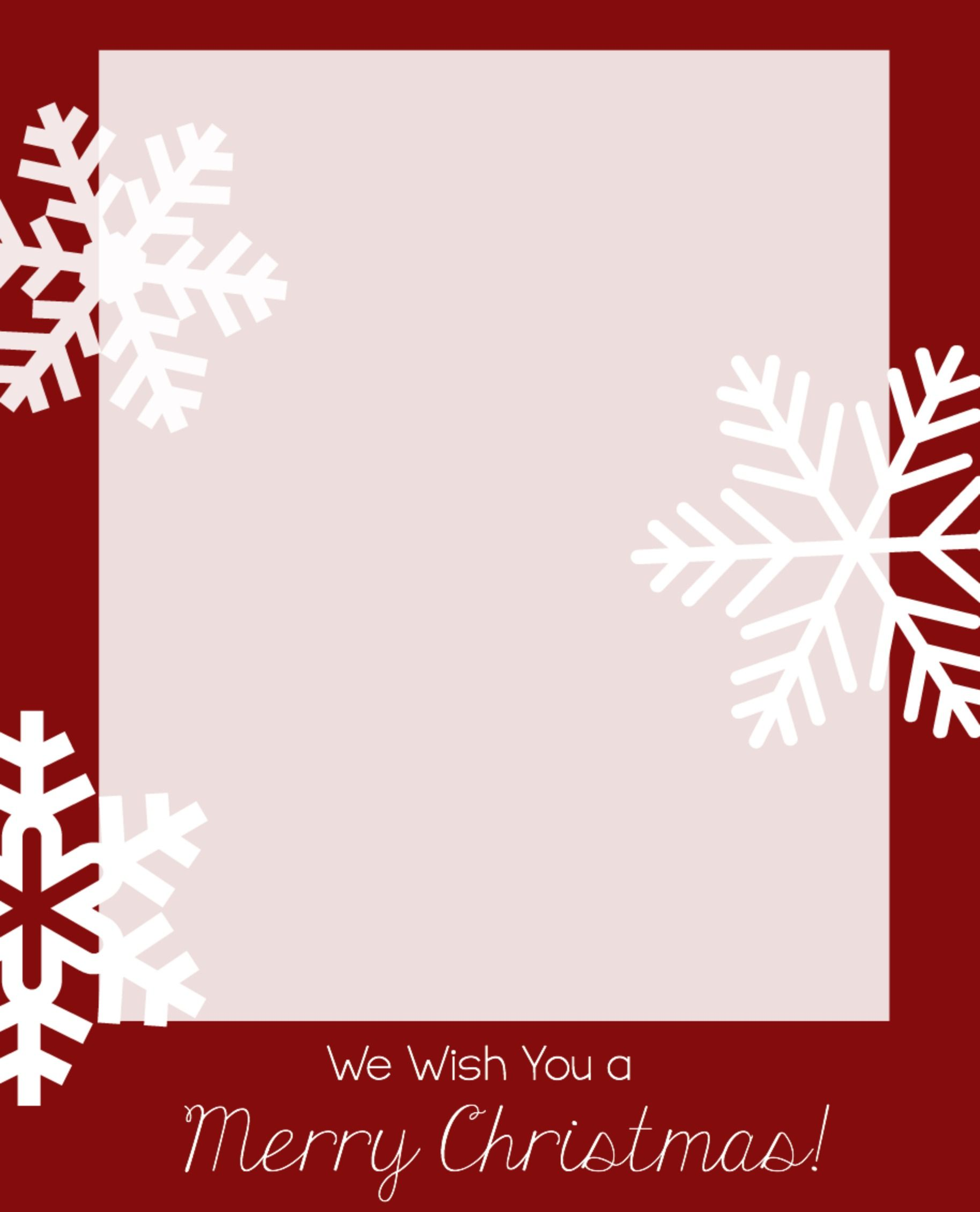 Free Christmas Card Templates | Free christmas card templates ...