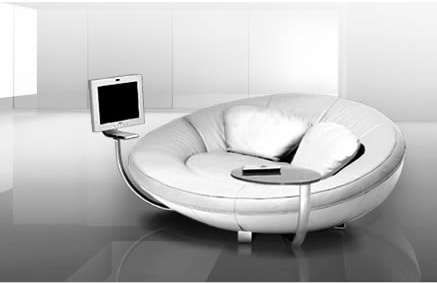 Oval Entertainment Sofas Sofa Design Modern Sofa Round Sofa