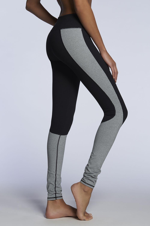 9efb135f4d593 Sydney Legging - Fabletics Grey Workout Leggings, Running Leggings, Workout  Pants, Workout Attire